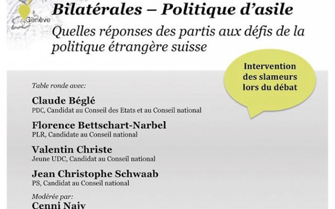 Conférence : Bilatérales – Politique d'asile