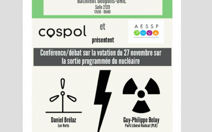 INFO VOTATION: Initiative sur la sortie du nucléaire