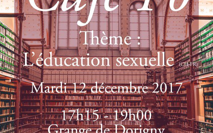 Café-Politique: l'éducation sexuelle
