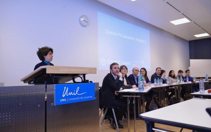 Compte-rendu de la table ronde: Science Po Lausanne, et après?