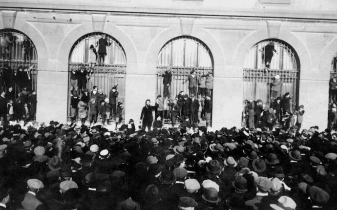 Conférence : La Grève générale de 1918 en Suisse