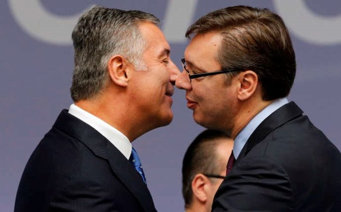 Recrudescence des tensions entre Belgrade et Podgorica